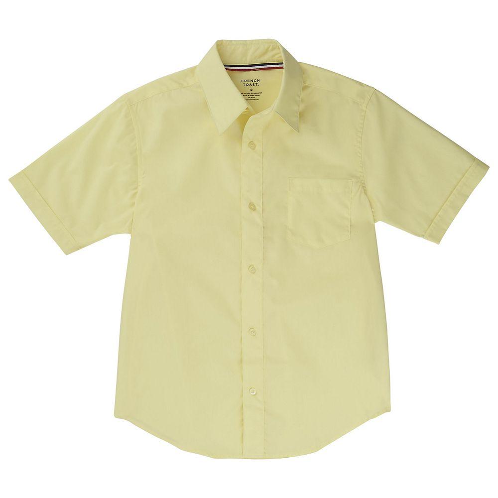 Boys 4-20 & Husky French Toast School Uniform Classic Dress Shirt
