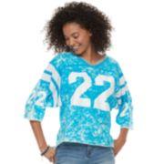 """Juniors' Vanilla Star """"22"""" Football Jersey"""