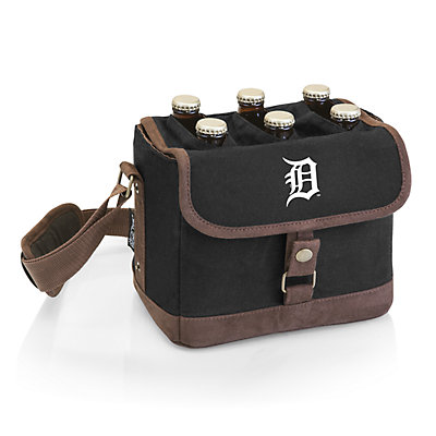 Detroit Tigers Beer Caddy Cooler Tote with Opener