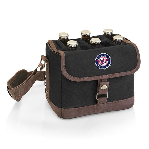 Minnesota Twins Beer Caddy Cooler Tote with Opener