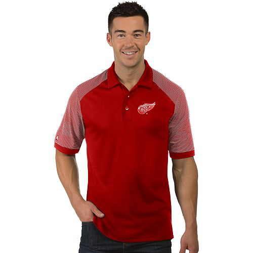 Men's Antigua Detroit Red Wings Engage Polo
