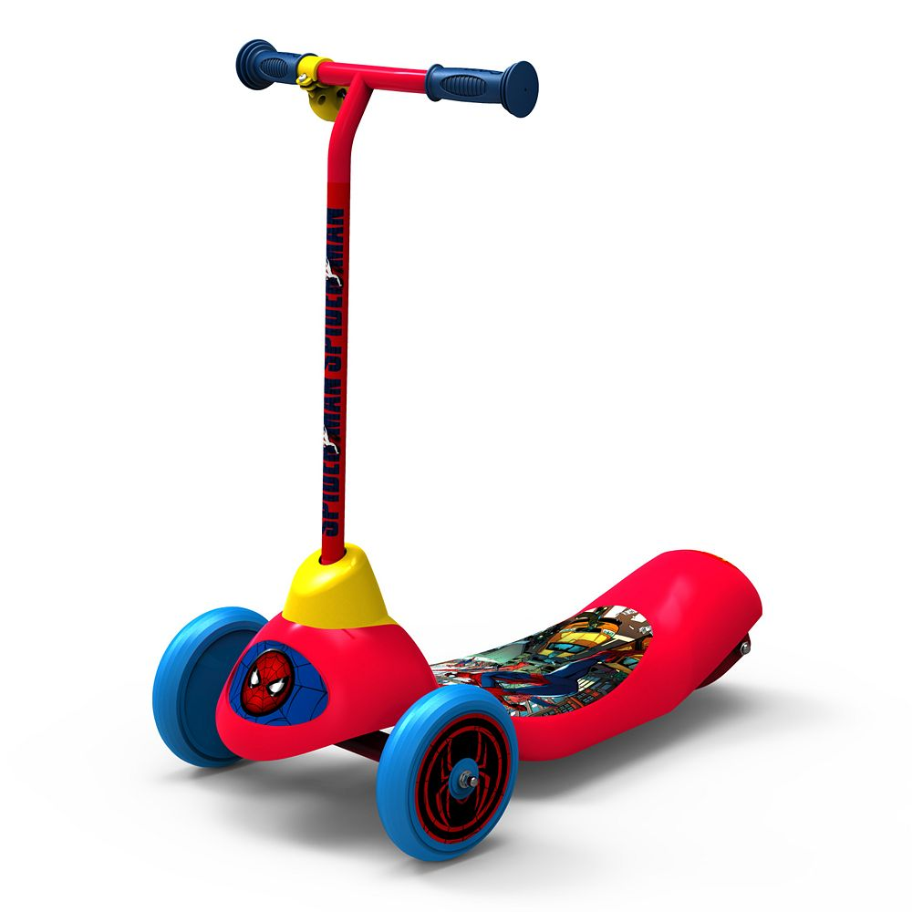 Pulse Performance Spider-Man 3-Wheel Electric Scooter