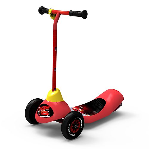 Pulse Performance Disney Cars 3-Wheel Electric Scooter
