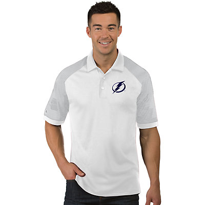Men's Antigua Tampa Bay Lightning Engage Polo