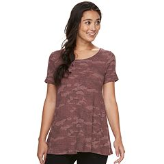 Women's SONOMA Goods for Life™ Textured Swing Tee