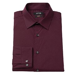 Big & Tall Apt. 9® Premier Flex Collar Stretch Dress Shirt