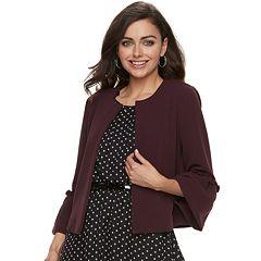 Women's ELLE™ Bell-Sleeve Ponte Jacket
