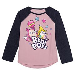 Girls 4-12 Jumping Beans® Pikmi Pops Graphic Raglan Tee