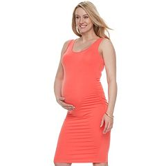Maternity a:glow Essential Ruched Sheath Dress