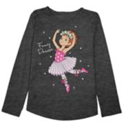 "Disney's Fancy Nancy Girls 4-10 ""Fancy Dancer"" Graphic Tee by Jumping Beans®"