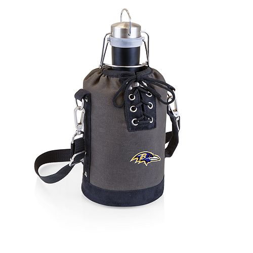 Baltimore Ravens Insulated Growler Tote