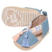 Baby Girl OshKosh B'gosh® Tassel Espadrille Crib Shoes