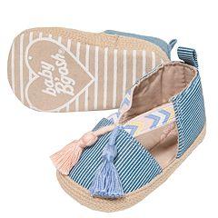 Baby Girl OshKosh B'gosh® Tassel Espadrille Crib Shoes