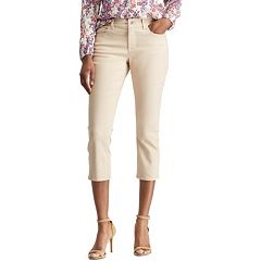 Women's Chaps Slim Capri Jeans