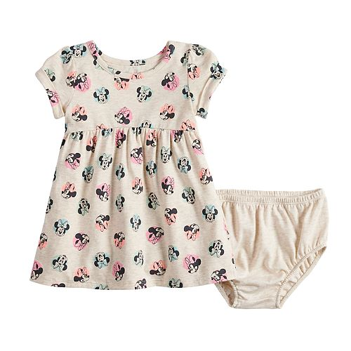 Disney's Minnie Mouse Baby Girl Babydoll Dress by Jumping Beans®