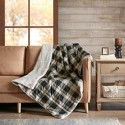 Woolrich Oversized Soft Spun Down-Alternative Throw