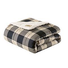 Woolrich Oversized Soft Spun Down-Alternative Throw