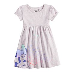 Disney's Minnie Mouse Toddler Girl Graphic Babydoll Dress by Jumping Beans®