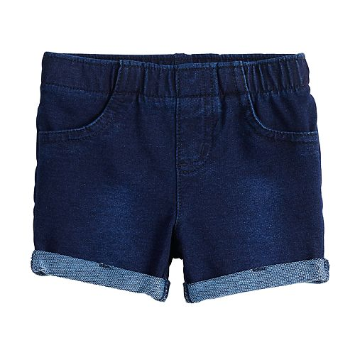 Baby Girl Jumping Beans® Cuffed Jegging Shorts