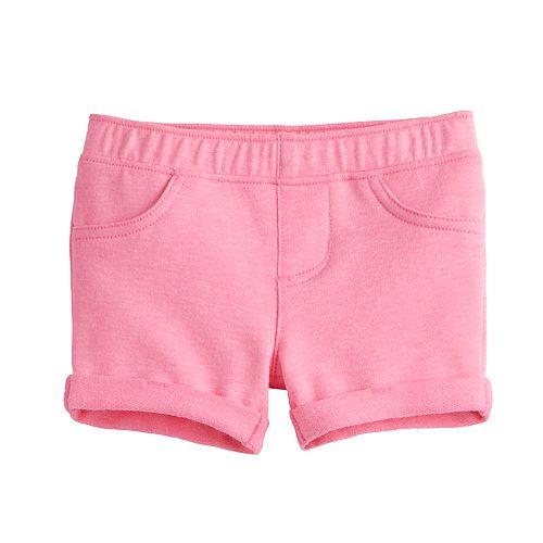 Baby Girl Jumping Beans® Cuffed Midi Shorts