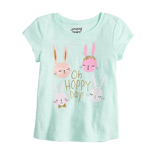db085b8ca Toddler Girl Jumping Beans® Slubbed Easter Graphic Tee