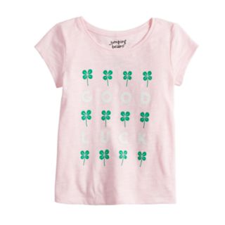 Toddler Girl Jumping Beans® St. Patrick's Day Graphic Tee