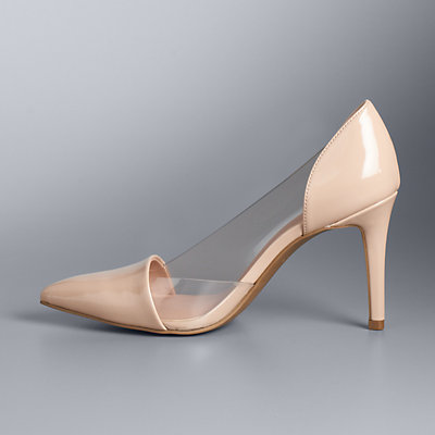 Simply Vera Vera Wang Arlet Women's Lucite Pumps