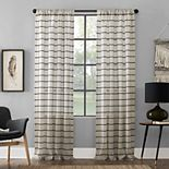 Clean Window Twill Stripe Anti-Dust Window Curtains