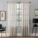 Clean Window Twill Stripe Anti-Dust Window Curtains