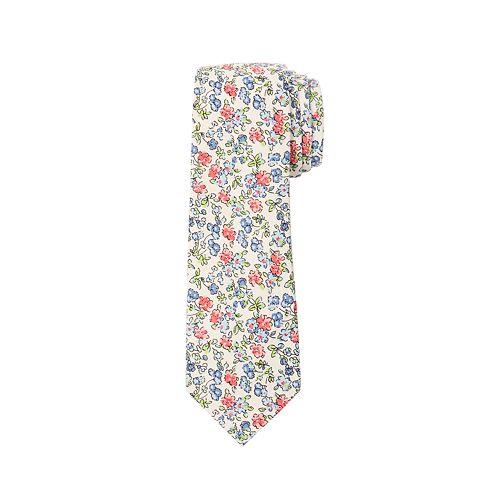 Men's Chaps Patterned Linen Tie