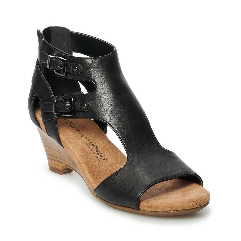 Croft & Barrow® Pastel Womens' Ortholite Wedge Sandals