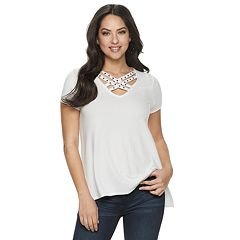 Women's Rock & Republic® Embellished Strappy Top