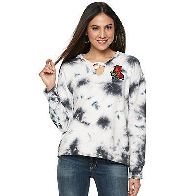 Women's Rock & Republic® Twisted Loop Sweatshirt