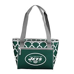 New York Jets Quatrefoil 16-Can Cooler Tote