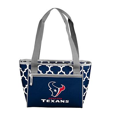 Houston Texans Quatrefoil 16-Can Cooler Tote