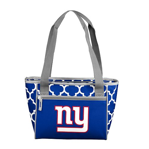New York Giants Quatrefoil 16-Can Cooler Tote