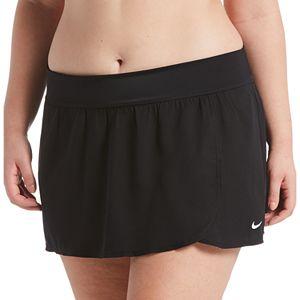 Plus Size Nike Element Solid Swim Boardskirt