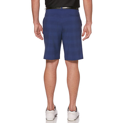Men's Grand Slam Fine-Line Printed Performance Golf Shorts