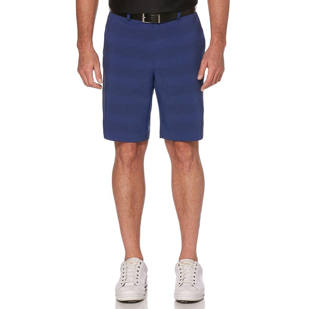 Men's Grand Slam Fine-Line Printed Performance Golf Shorts