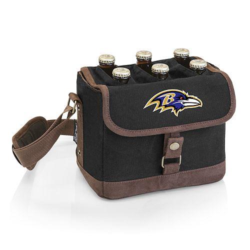 Baltimore Ravens Beer Caddy Cooler Tote