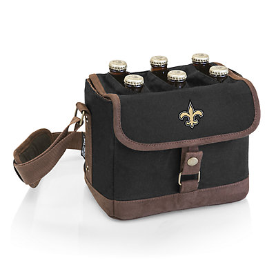 New Orleans Saints Beer Caddy Cooler Tote