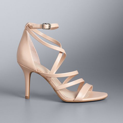 Simply Vera Vera Wang Elstar Women's Strappy Heels
