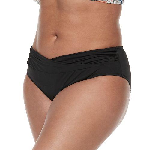 Plus Size Apt. 9® Twist Mid-Waist Bottom