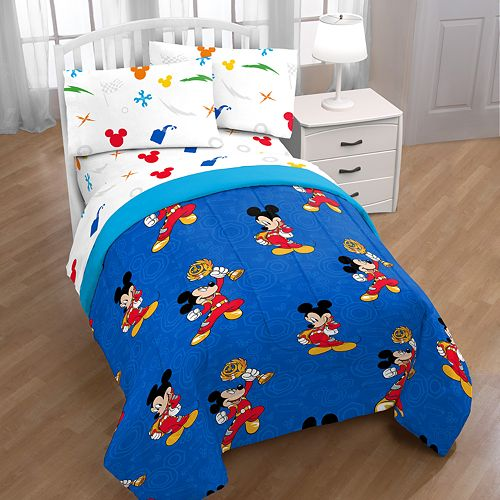 Disney's Mickey Mouse Clubhouse Roadster Trophy Twin Bedding Set