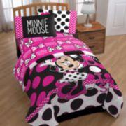 Disney Minnie Mouse Dots Twin Sheet Set