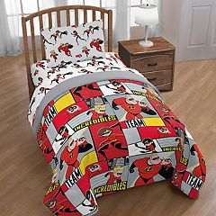 Disney/Pixar Incredibles Super Family Twin Comforter
