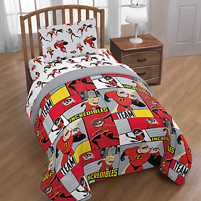 Disney/Pixar Incredibles Super Family Twin Comforter