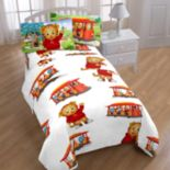 Daniel Tiger Trolly Ride Twin Sheet Set