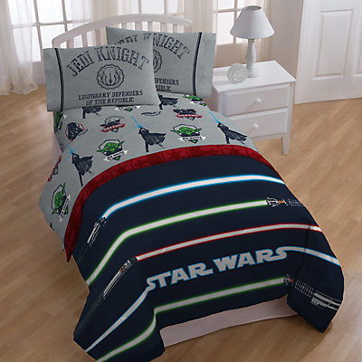 Star Wars Classic Lightsaber Twin Bedding Set