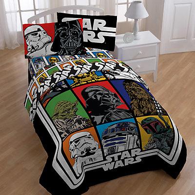 Star Wars Classic Grid Full Comforter